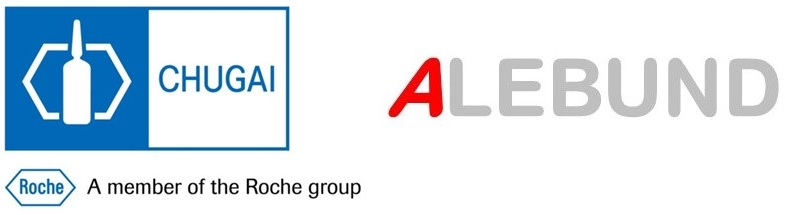 Logos of Chugai and Alebund